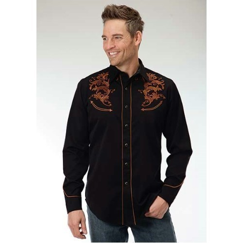 MENS L/S SHIRT OLD WEST  Thumbnail