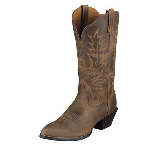 ARIAT WOMENS HERITAGE BROWN COWGIRL BOOT Thumbnail
