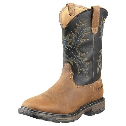 MENS WORKHOG WIDE SQUARE TOE WESTERN BOOT Thumbnail