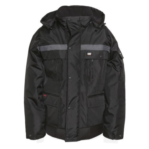 HEAVY INSULATED BOMBER JACKET Thumbnail