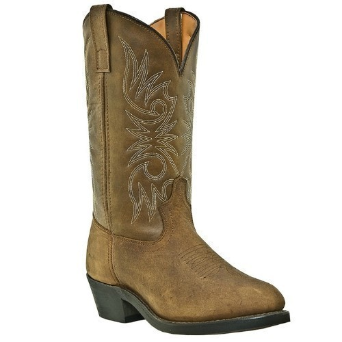 LAREDO DISTRESSED  COWBOY BOOT-TRUCKER SOLE Thumbnail