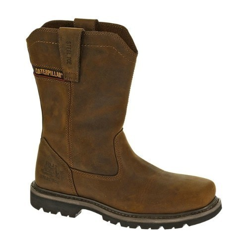 MENS WELLSTON PULL ON STEEL TOE WORK BOOT  Thumbnail