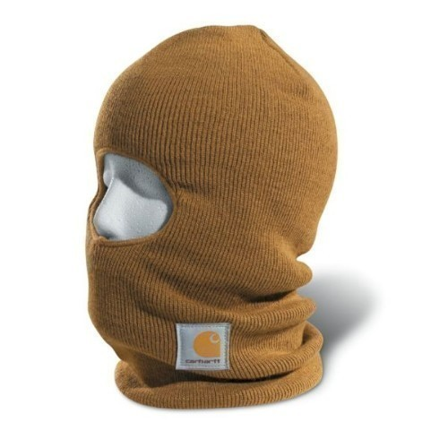 CARHARTT FACE MASK BROWN Thumbnail