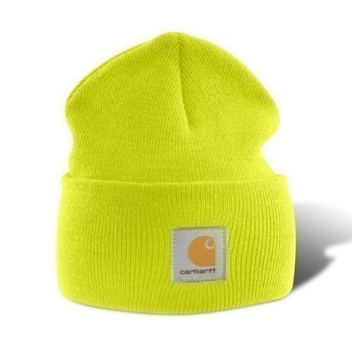 Carhartt Acrylic Watch Cap Bright Lime Thumbnail