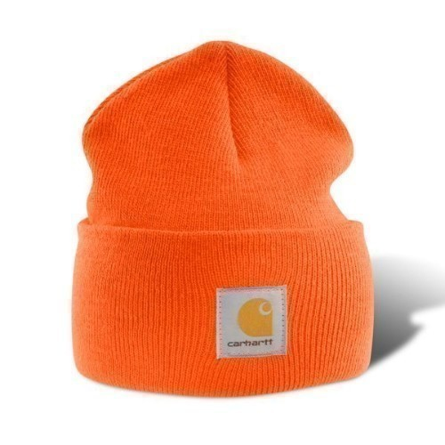 Carhartt Acrylic Watch Cap Bright Orange Thumbnail
