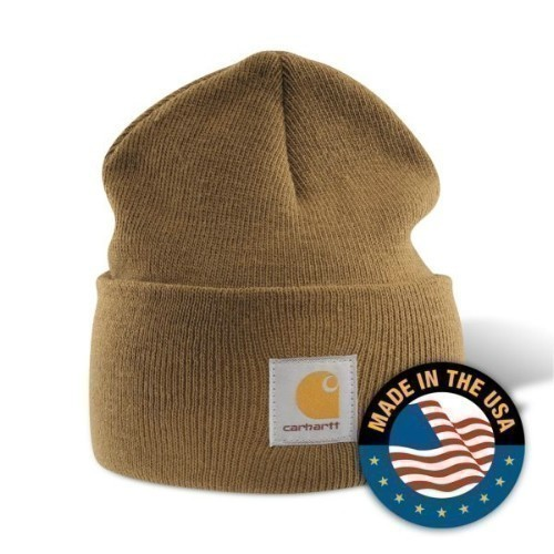 Carhartt Acrylic Watch Cap Brown Thumbnail