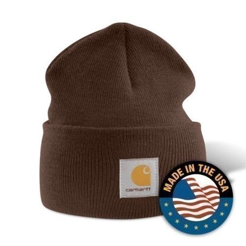Carhartt Acrylic Watch Cap Dark Brown Thumbnail