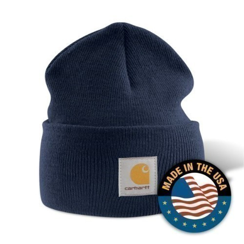 Carhartt Acrylic Watch Cap Navy Thumbnail