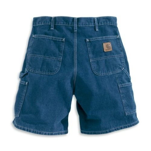 Carhartt Denim Work Short Darkstone Thumbnail