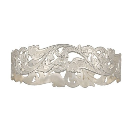BC-Silver Filigree Bangle Thumbnail
