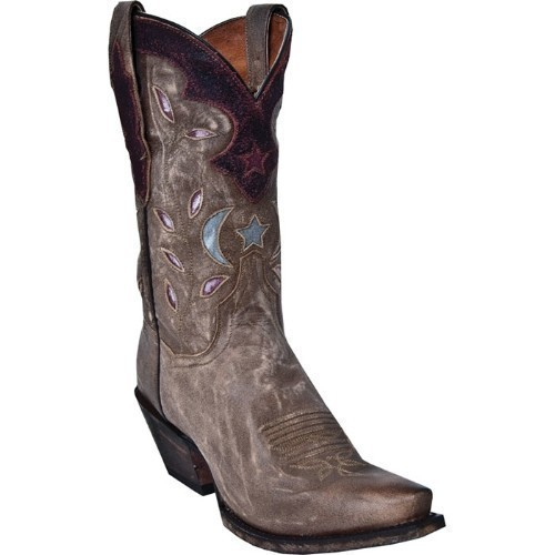 STAR&MOON TAN RUSTIC SADDLE BROWN BOOT Thumbnail