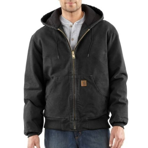 Carhartt Sandstone Active Jac Black Big Thumbnail