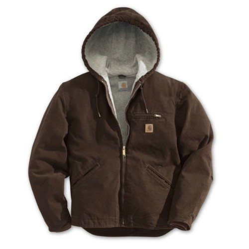 Carhartt Sandstone Sierra Jacket Dark Brown Thumbnail
