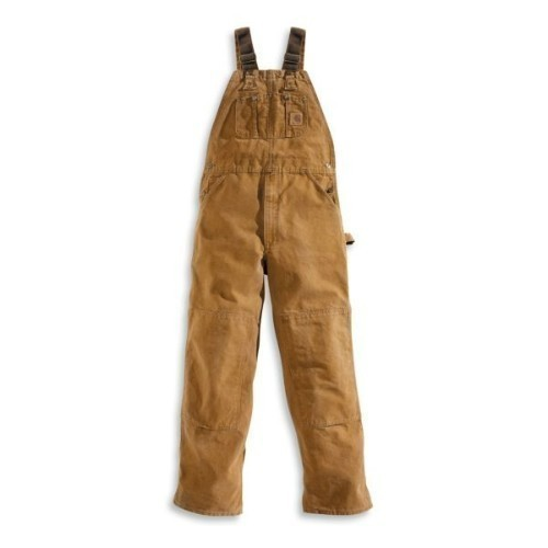 Carhartt Sandstone Bib Overall  Unlined Brown Thumbnail