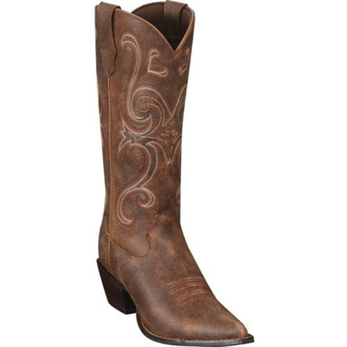 WOMENS CRUSH JEALOUSY BROWN COWGIRL BOOT Thumbnail