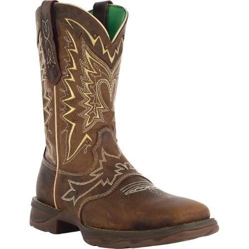 WOMENS LET LOVE FLY BROWN REBEL COWGIRL BOOT Thumbnail
