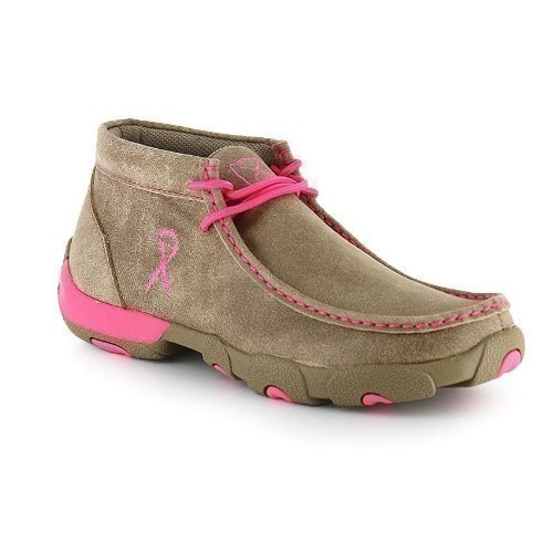 WOMEN DRIVING MOCS PINK Thumbnail