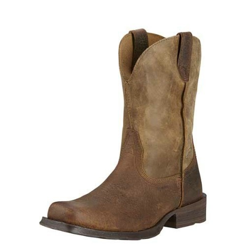 MENS RAMBLER EARTH BROWN BOMBER COWBOY BOOT Thumbnail