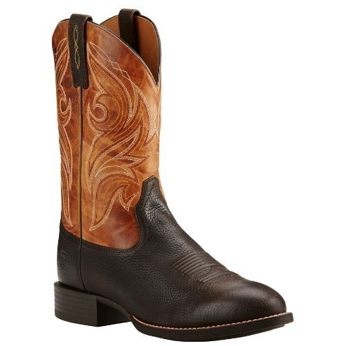 ARIAT HERITAGE COWPUNCHER WESTERN BOOTS Thumbnail