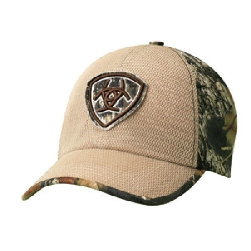 ARIAT LOGO PATCH CAP TAN/CAMO Thumbnail