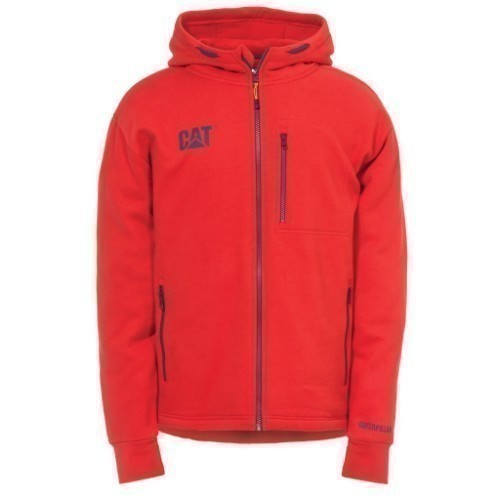 DROP TAIL ZIP SWEATSHIRT RED T Thumbnail