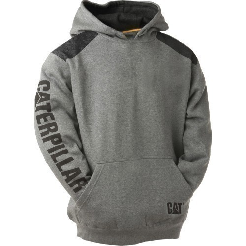 LOGO PANEL HOODED SWEATSHIRT Thumbnail