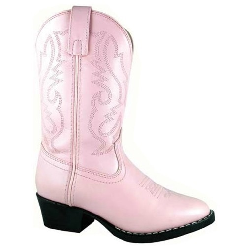 CHILDREN PINK WESTERN COWGIRL BOOT CHILD 85-3 Thumbnail