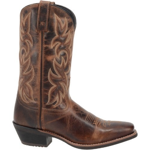 MENS RUST LEATHER LAERDO WESTERN BOOT Thumbnail