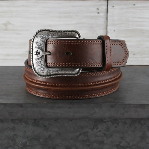 ARIAT LEATHER BELT Thumbnail