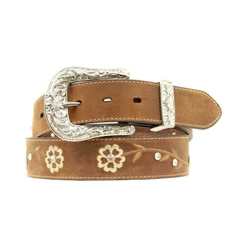 ARIAT SCROLLING FLOWER BELT Thumbnail