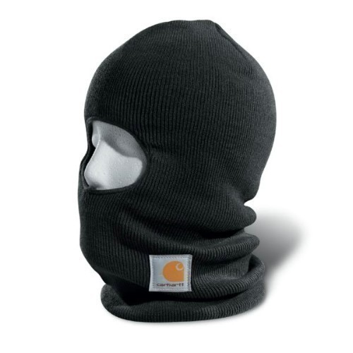 Carhartt Face Mask Black Thumbnail