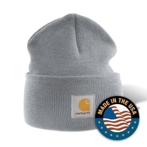 Carhartt Acrylic Watch Cap Heather Gray Thumbnail