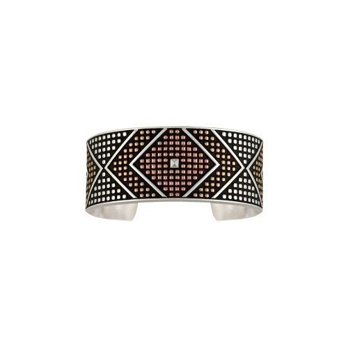 BC-Tri-Color Wide Diamond Azte Thumbnail
