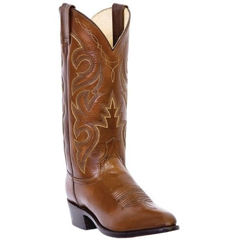 DAN POST ANTIQUE TAN CORONA COWBOY BOOT Thumbnail