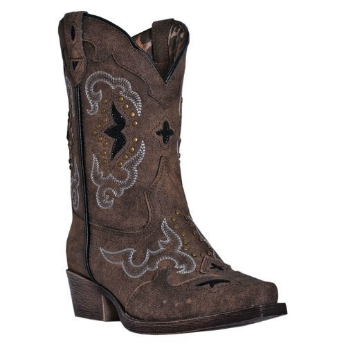 RULAY SANDED BROWN WESTERN COWGIRL BOOT Thumbnail