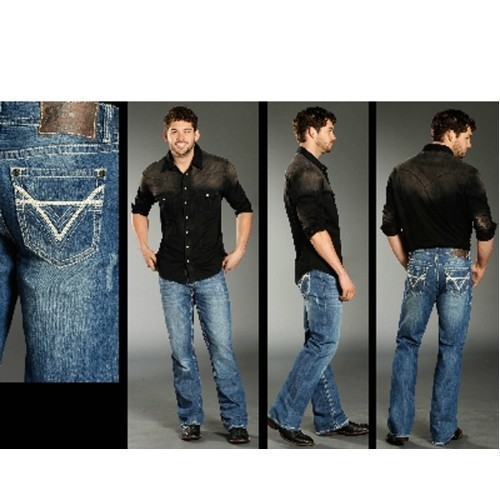 MENS DOUBLE BARREL RELAX FIT JEANS Thumbnail